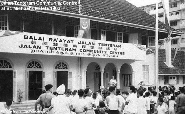 opening of jalan tenteram community centre 1963