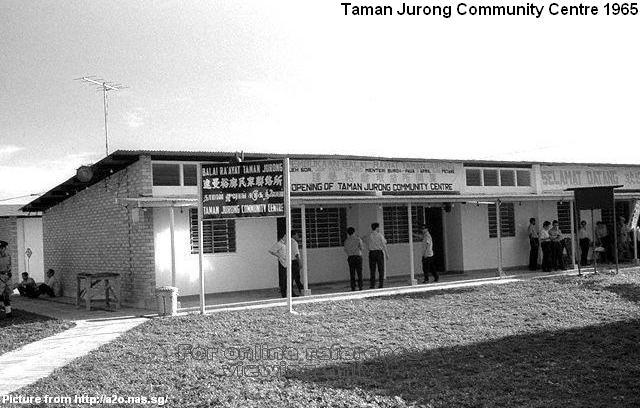 taman jurong community centre 1965