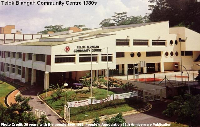 telok blangah community centre 1980s