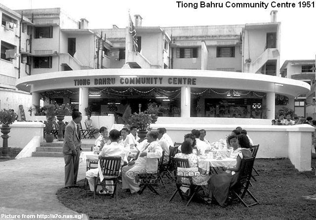 tiong bahru community centre 1951