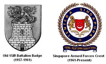 1sir battalion badges 1957-present