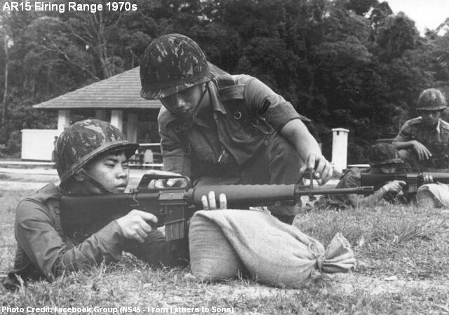 ar-15 firing range 1970s