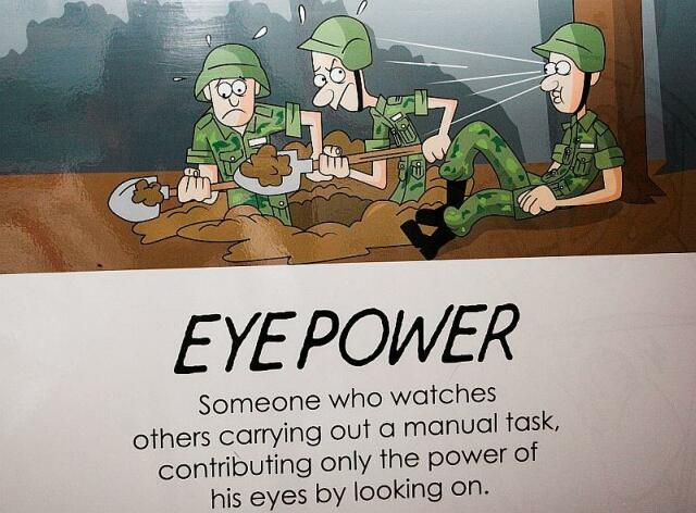 eye power