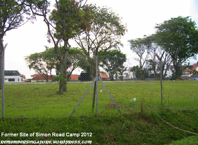 former site of simon road camp