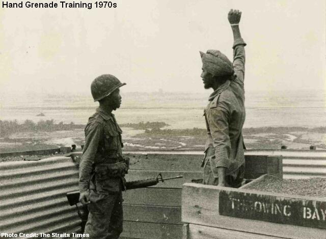hand grenade training 1970s