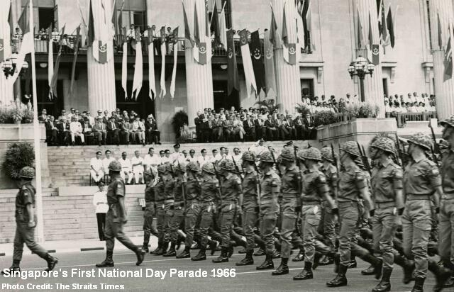 national day parade 1966