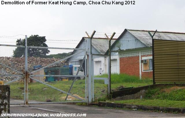 old keat hong camp under demolition 2012