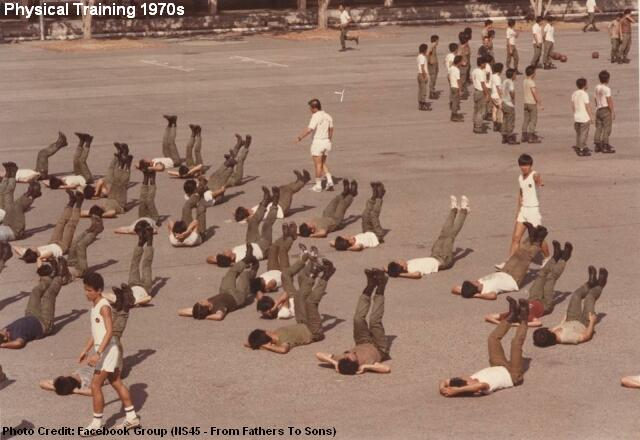 physcial training 1970s
