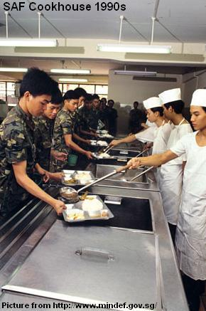 saf cookhouse 1990s
