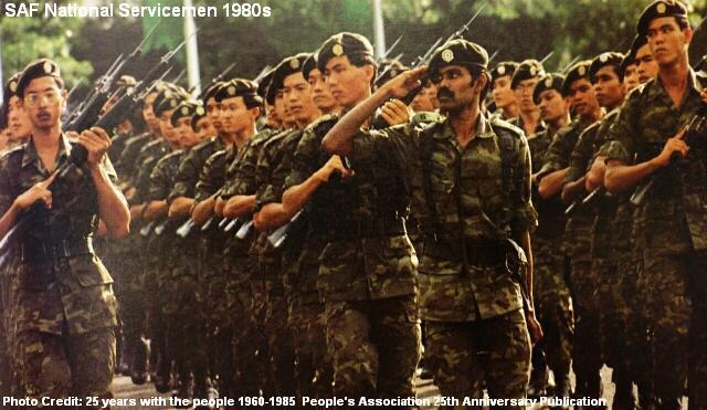 saf national servicemen 1980s