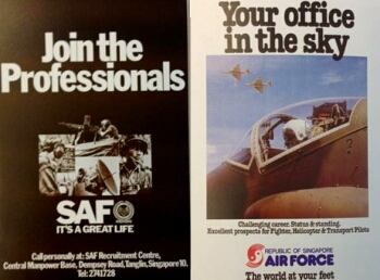 saf recruitment posters 1978-1980
