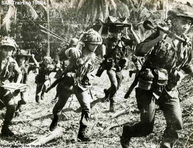 saf training 1980s