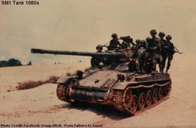 sm1 tank 1980s