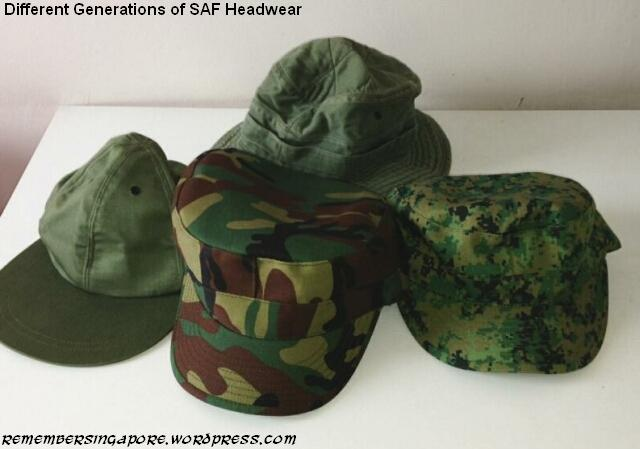different generations of saf headwear
