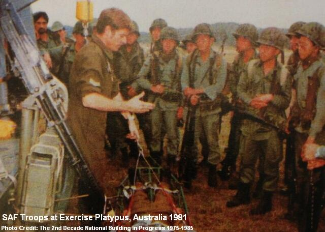 exercise platypus at australia 1981