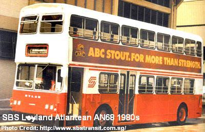 sbs leyland atlantean an68 1980s