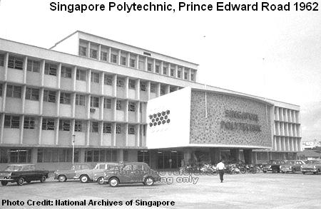 singapore poly at prince edward road 1962