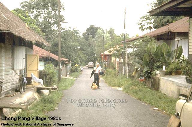 chong pang village 1980s