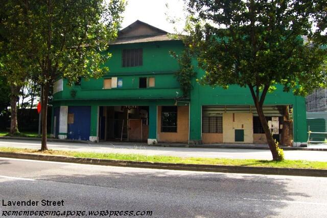 lavender street old building