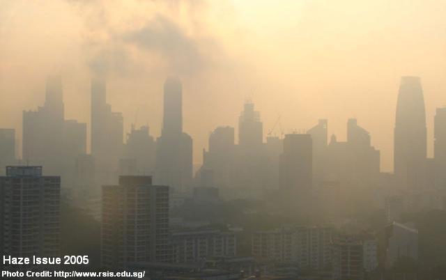 singapore haze 2005