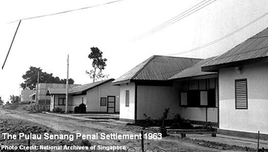pulau senang penal settlement 1963