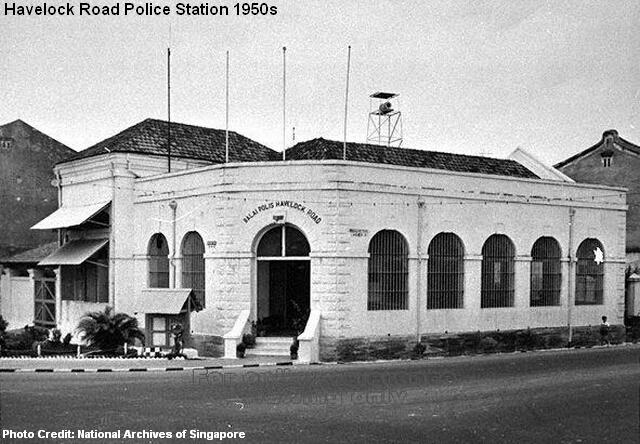 havelock road police station 1950s