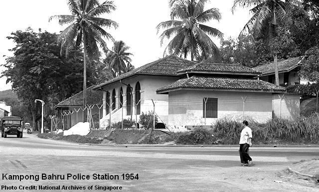 kampong bahru police station 1954