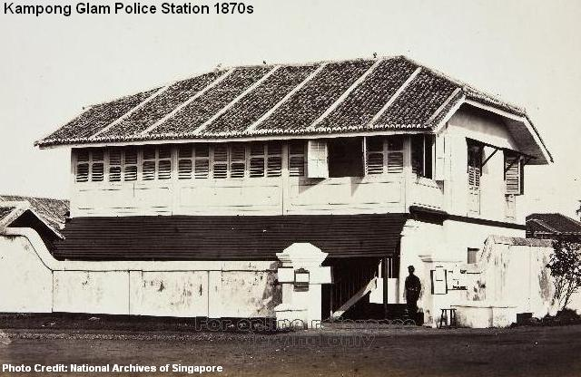 kampong glam police station 1870s