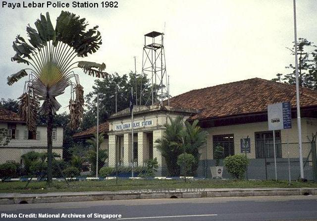 paya lebar police station 1982