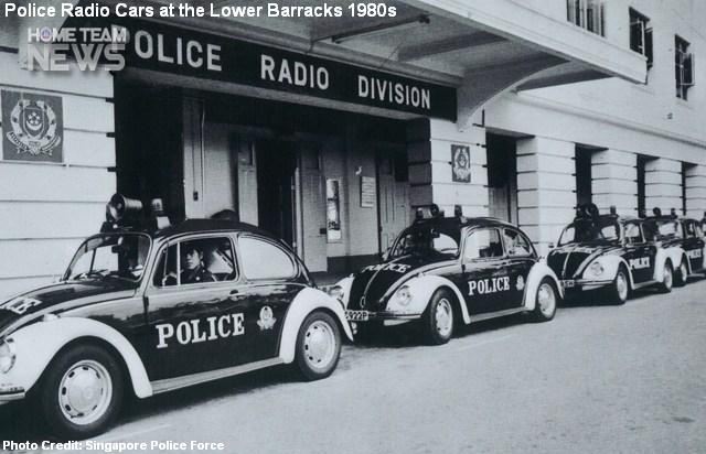 pearl's hill police radio division 1980s