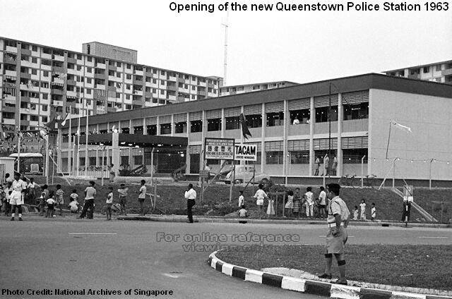 queenstown police station 1963