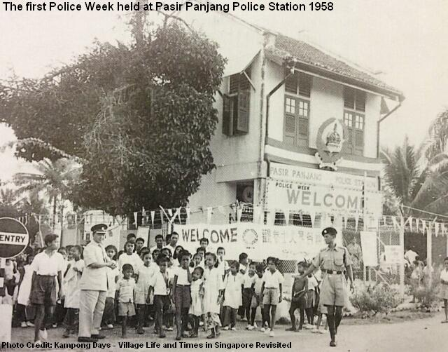 singapore first police week 1958
