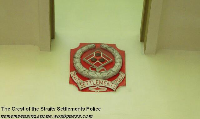 straits settlements police crest