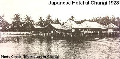 japanese hotel at changi 1928
