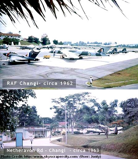 raf changi and netheravon road 1960s