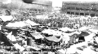 selarang barracks incident 1942
