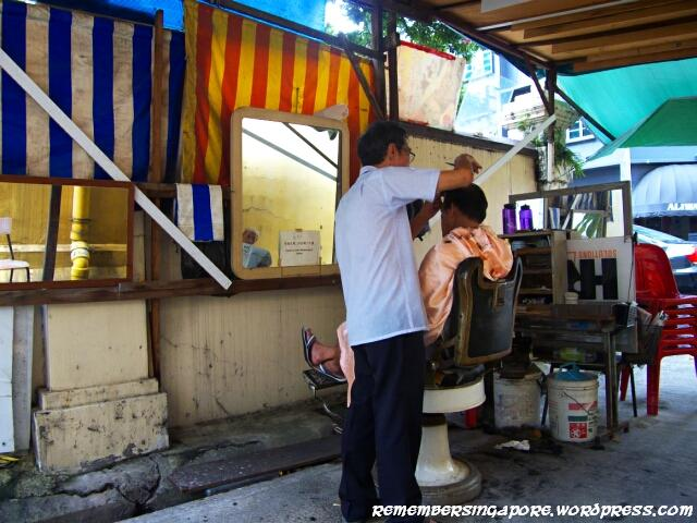 The Last Of The Street Barbers In Singapore Remember
