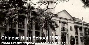chinese high school 1960