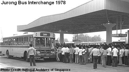 jurong bus interchange 1978