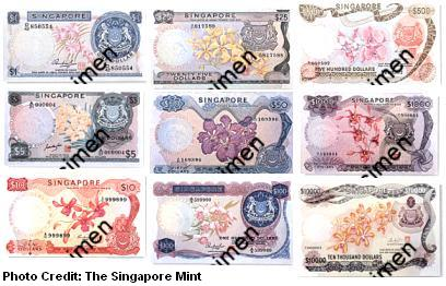 singapore-first-dollar-notes-orchid-series-1967