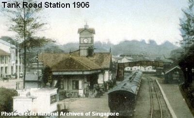 tank road station 1906