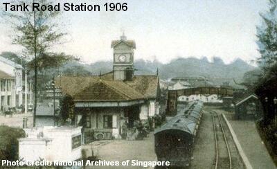 tank road station 1906