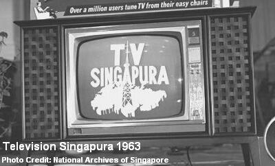 television singapura 1963