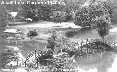 alkaff lake gardens 1940s
