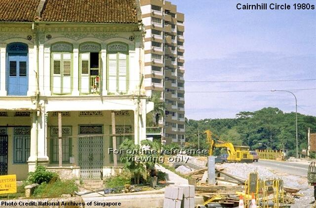 cairnhill circle 1980s