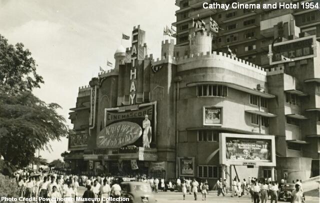 cathay cinema and hotel 1954