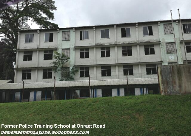 former police training school at onraet road