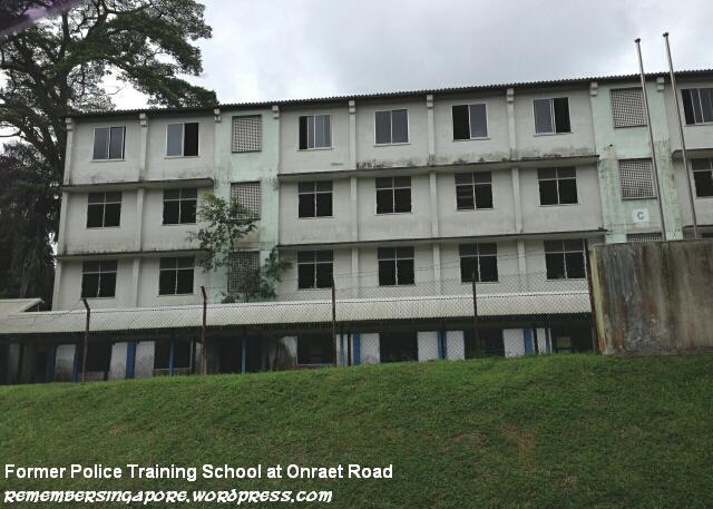 former police training school at onraet road