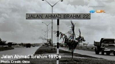 jalan ahmad ibrahim 1970s