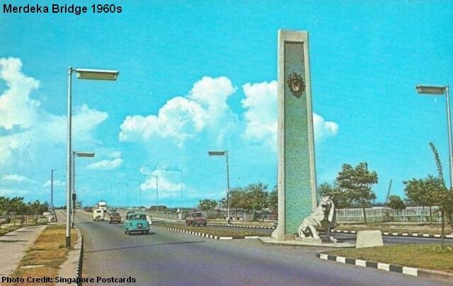 merdeka bridge 1960s
